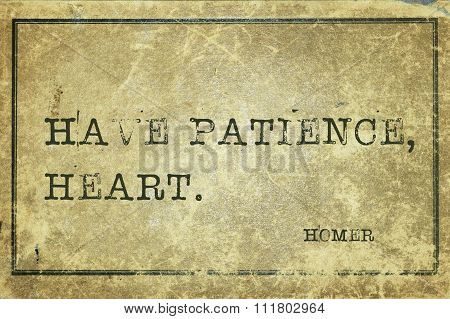 Have Patience Homer