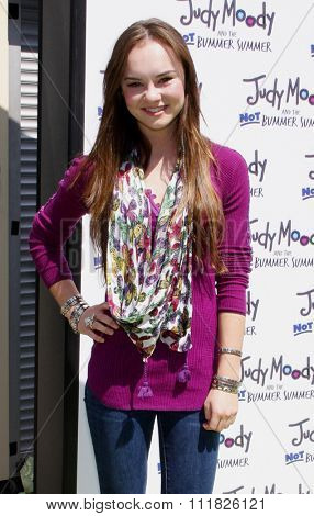 HOLLYWOOD, CALIFORNIA - June 6, 2011. Madeline Carroll at the Los Angeles premiere of