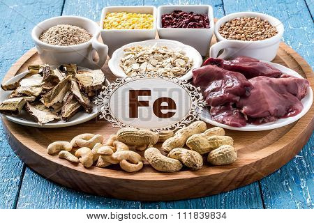 Products Containing Ferrum (fe)