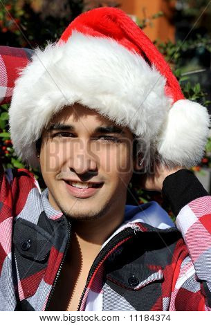 Attractive Santa