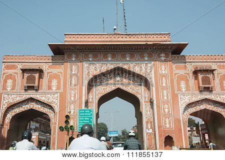 Old City Gate in Jaipur