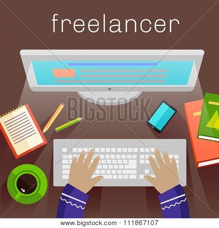 Freelancer, Copywriter, Journalist at Computer