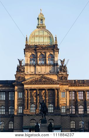 Saint Wenceslas Statue In Prague