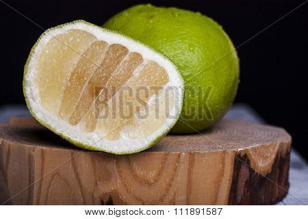 Citrus Sweetie On A Wooden Board