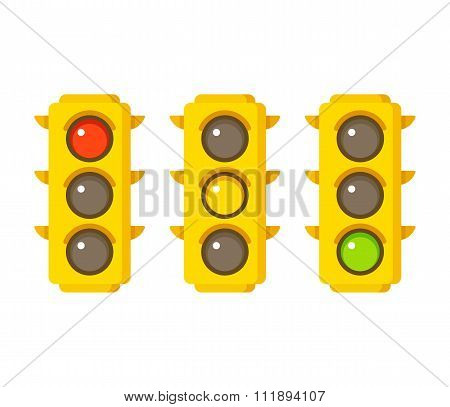 Traffic Light Icons