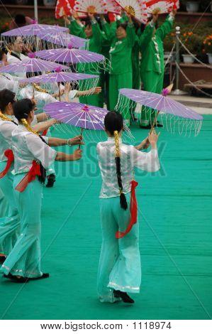 Chinese Umbrella Dance