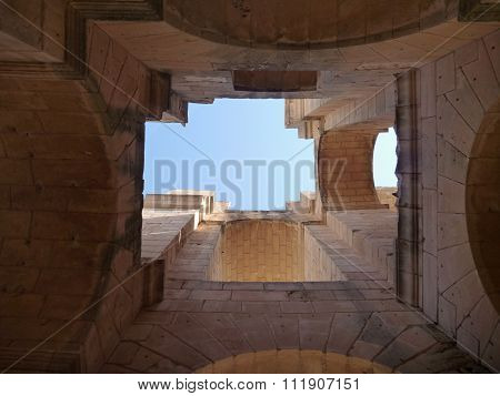 A Corridor In The Amphitheatre El Jem