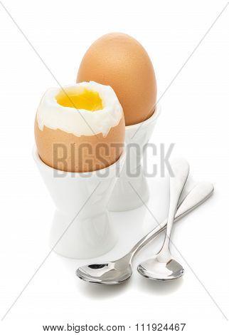 Breakfast Of Soft Boiled Egg