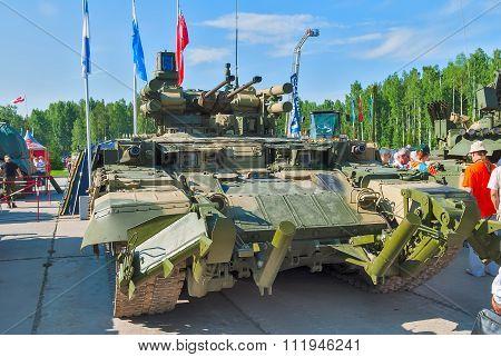 Tank Support Fighting Vehicle Terminator. Russia