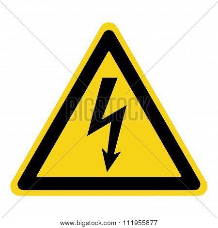 Danger Electricity Sign