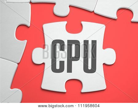 CPU - Puzzle on the Place of Missing Pieces.