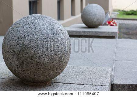 Granite Full-sphere At An Input
