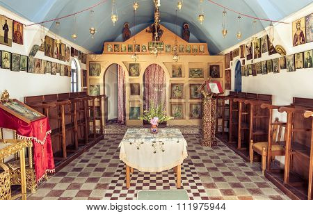 Greek Orthodox Chapel Interior