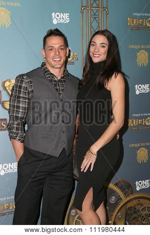 LOS ANGELES - DEC 09:  Mike 'The Miz' Mizanin at the Cirque Du Soleil's