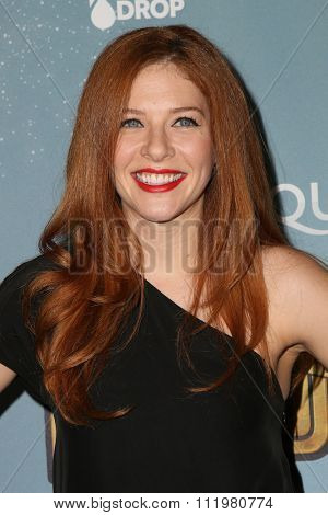 LOS ANGELES - DEC 09:  Rachelle LeFevre at the Cirque Du Soleil's