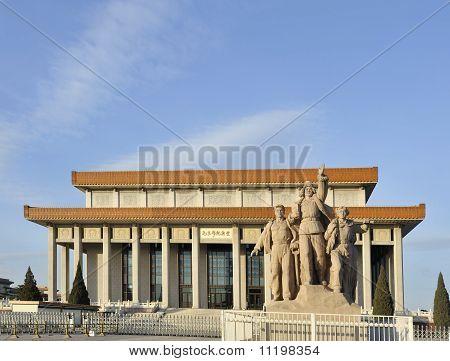 Mausoleum Of Mao Zedong In Beijing