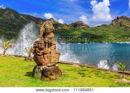 Nuku Hiva, Marquesas Islands.