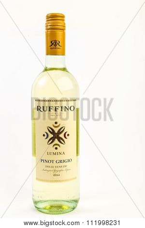 Bottle Of Ruffino Pinot Grigio