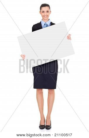 Cheerful Sing Woman