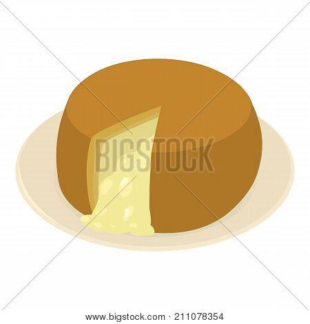 Portuguese food icon. Isometric illustration of portuguese food vector icon for web
