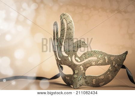 Mask carnival background ball illustration copy isolated