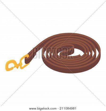 Horse belt icon. Isometric illustration of horse belt vector icon for web