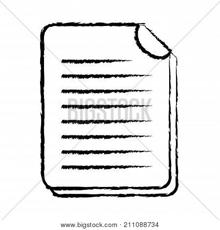 figure business document information to corporate informtion vector illustration
