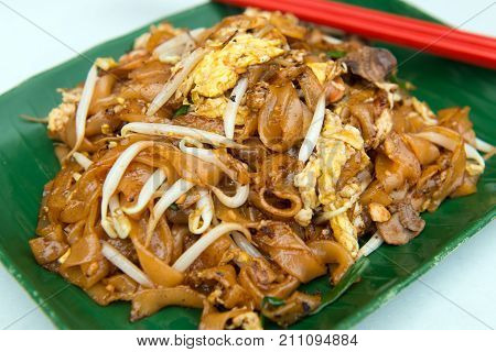 Fried Flat Noodle