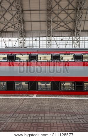 The First In Russia Two-story High-speed Aeroexpress