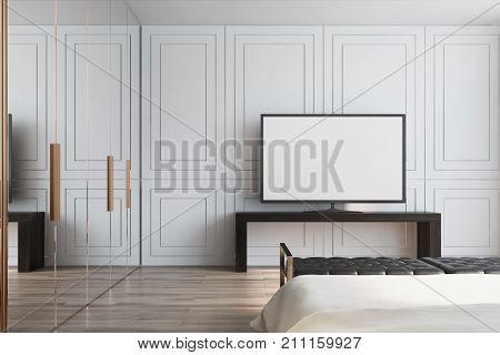 White Living Room, Tv Set