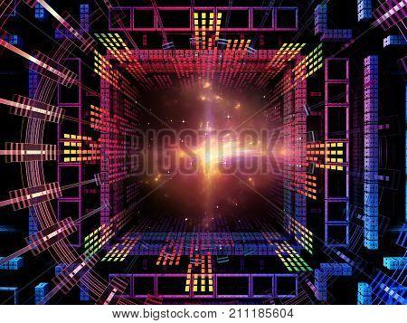 Virtualization Of Quantum Space