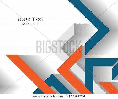colorful cover design. Modern vector illustration with copy space. Elements for your work. Bright template. Eps10