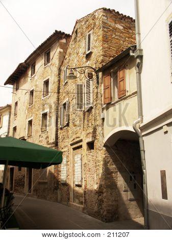 Mediterranean Town Street