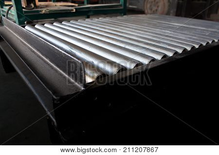 conveyor belt in packing production construction, conveyer,