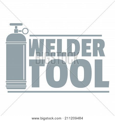 Welder tool logo. Simple illustration of welder tool vector logo for web