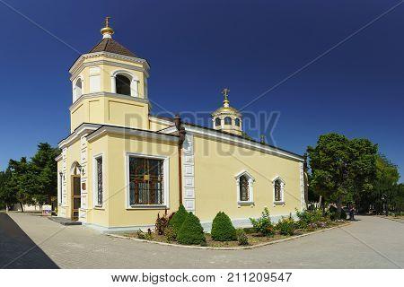 Small Stone Church Of The Seven Martyrs Of The Chersonese Chersonesos Monastery In Chersonesus Tavri