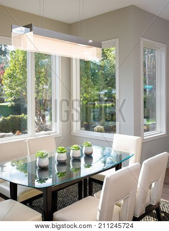Modern Breakfast Nook Design