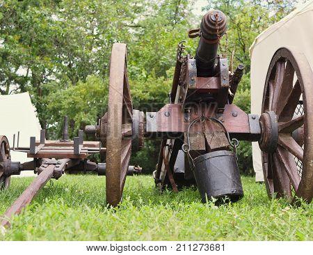 Swedish cannon Swedish historical army The Thirty Years' War Swedish artillery
