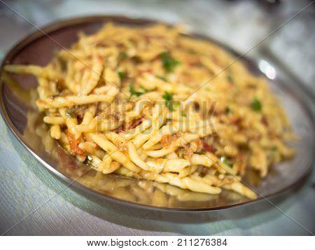 Handmade Pasta Blur