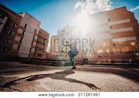The Dancer Dances On The Street