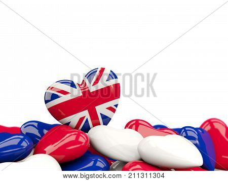 Heart With Flag Of United Kingdom