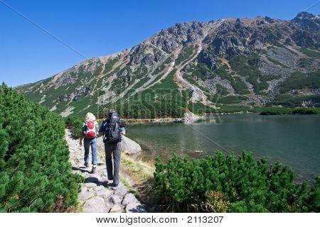 Trekking In Mountains