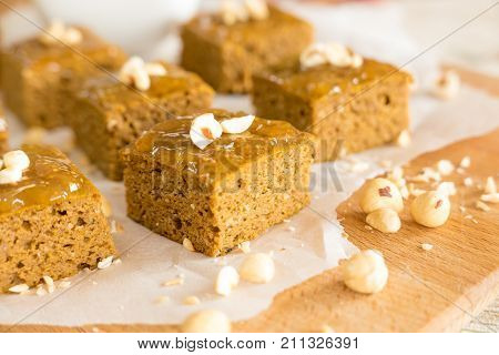 Gluten Free Pumpkin Brownies