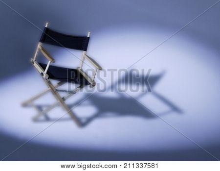 Directors Chair In Spotlight