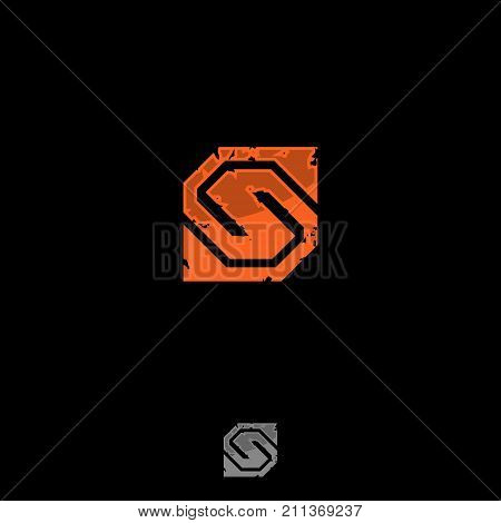Abstract S letter vector. S logo gaming. S icon app. Vector illustration EPS.8 EPS.10