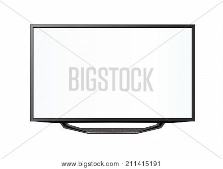 TV flat screen lcd plasma realistic .