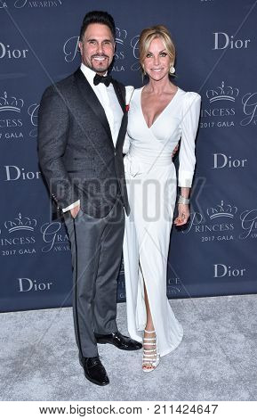 LOS ANGELES - OCT 25:  Don Diamont and Cindy Ambuehl arrives for the Princess Grace Awards Gala 2017 on October 25, 2017 in Beverly Hills, CA