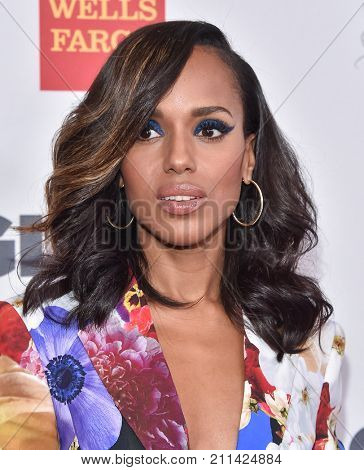 LOS ANGELES - OCT 20:  Kerry Washington arrives for the GLSEN Respect Awards 2017 on October 20, 2017 in Beverly Hills, CA