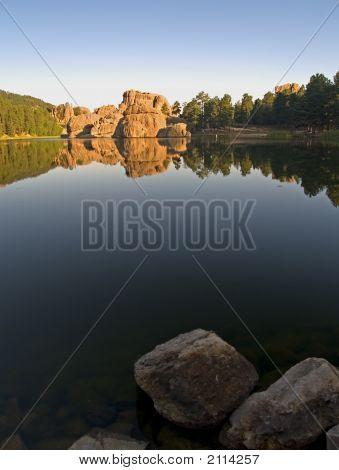 Sylvan Lake Daybreak
