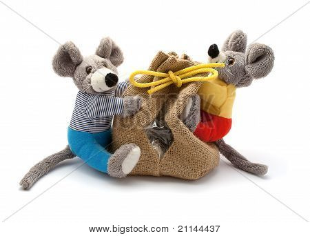 Mice With Bag